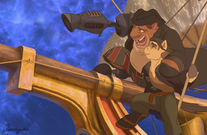 Treasure Planet by Dannycreepy
