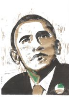 President elect Barack Obama by Morgster