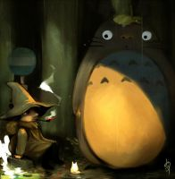 Totoro and Snusmumriken by pu