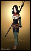 Dragon Age 2 - Bethany by SelphieSK