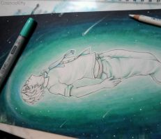 Shooting Star -WIP- by CosmosKitty