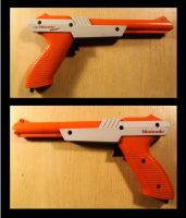 Nostalgia of Video Gaming (Nintendo Zapper 1985) by RedW0lf777sg