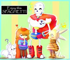 .Enjoy this SPAGHETTI. by TogeticIsa