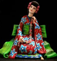 Geisha Repaint front by thepinupgirl