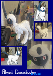 Absol Commission by HollieBollie