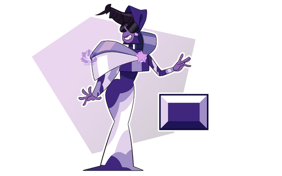 [C] - Violet Zircon by FloofHips