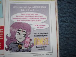 Raven in Nick Mag by Don46