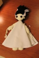 Bride of Frankenstein cloth doll by geekygamergirl