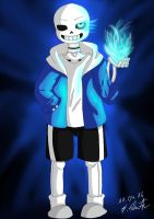 Undertale: Sans the Skeleton by Snilaze