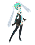 Miku GSR 2011 MMD by bookazoid