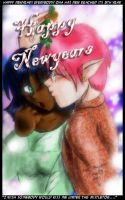 New Years Kiss by jekylnhyde