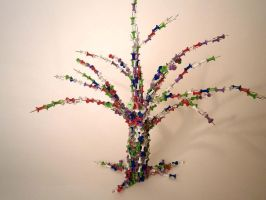Thumbtack Tree by Sing-Down-The-Moon