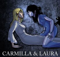 Carmilla and laura by Drunkfu