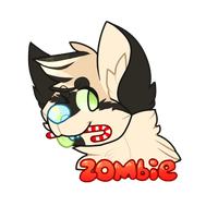 zombie ych badge by Creation-Forest