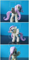SOLD:Young/Filly Fluttershy custom by EmR0304