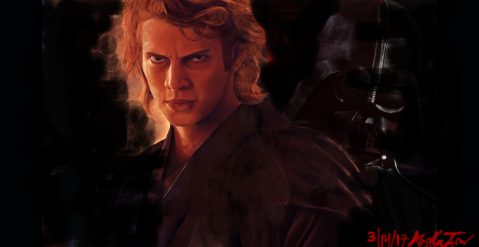From the Light...to the Dark...Anakin Skywalker by KaylaDeviant16
