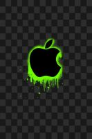 Apple iphone wallpaper - Green by Photogenic5