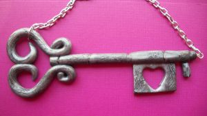 Key To My Heart Necklace by KatGore