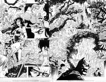 JUSTICE LEAGUE 13 PGS 16 AND 17 by BATTinks