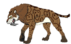 WWB Smilodon by masonday