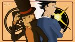 Profesor-layton-vs-phoenix-wright by avellante
