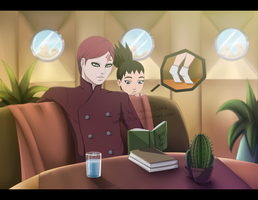 What reads Uncle Gaara? by Sauto-0chka