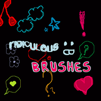 Ridiculous Brushes by Discopada