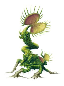 Giant Flytrap for Paizo by MichaelJaecks