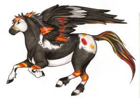 Aldara the Pegasus by CatherineSt