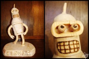Wooden Bender by efish