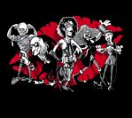 Rocky Horror Gang of five by jimspon
