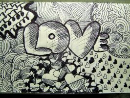 Simple Love Doodle =) by J8MDS