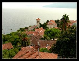 Over The Roofs Of Herceg-Novi - Montenegro by skarzynscy
