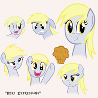 (Gift) Derp Expressions Recreated by kuren247