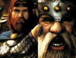 Dragonlance 7 detail by JPRart