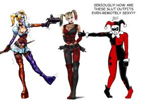 Harley Quinns Reaction by ViktorMatiesen