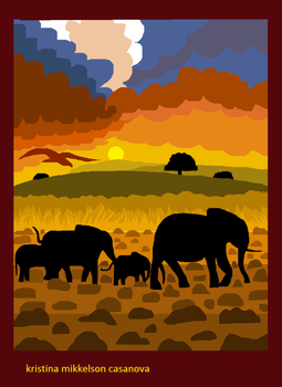 Elephants by KR1ST1N4