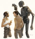 Bodhi, Cassian and K-2SO by CaptBexx
