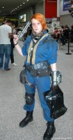 Fallout Vault Dweller by ArcaneArchery
