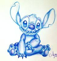 Day 1: Stitch by SteamboatLyssie