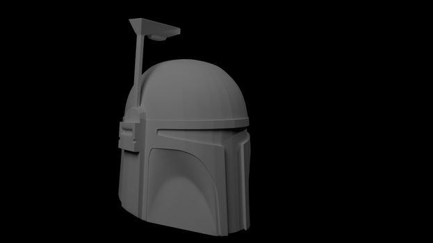 Boba Fett Helmet WorkInProgress by LeBonBounty