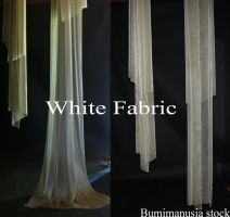 White Fabric by bumimanusiastock