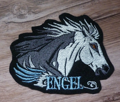 Gift: Engel embroidered patch by goiku