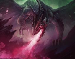 Poison Dragon by HELMUTTT