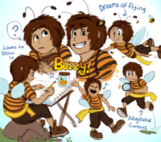 Commission: Buzzy! by Pheoniic