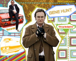 Gene Hunt - Wallpaper by Colourless-Calamity