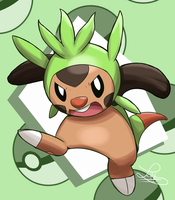 Its chespin time by Lui421