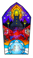MLP - The Bell of Freedom - Stained Glass by Yula568