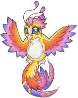 Neopets: Faerie Pteri by heatbish