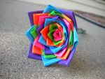 Duct Tape Flower by SharpieObsessed